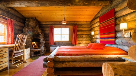 Finland Log Cabin With Glass Igloo Holidays